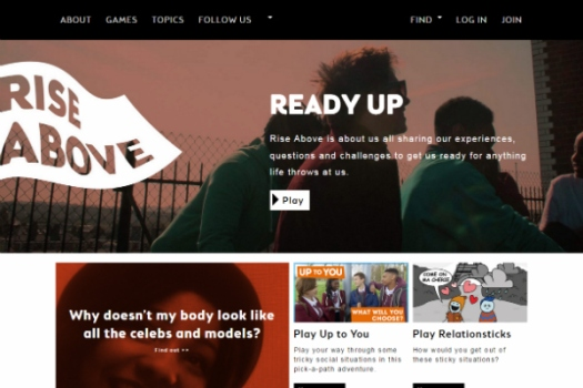 Health and well-being website for young people launched