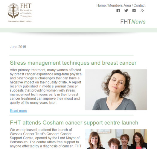 FHT News - June issue