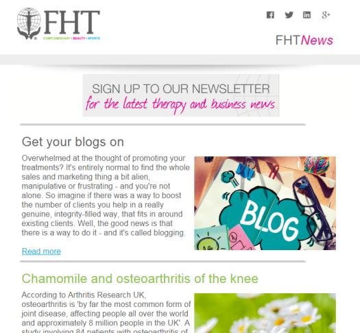 FHT News