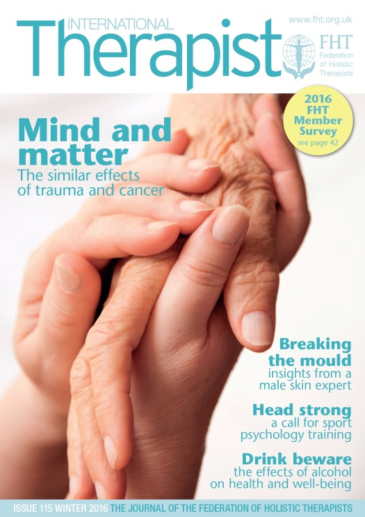 International Therapist Winter 2016, Issue 115