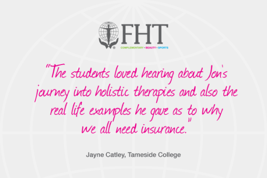 Thank you for inviting FHT to your college