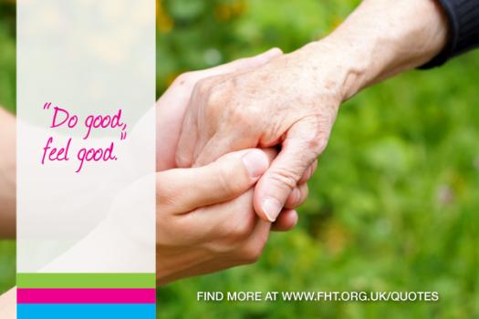 Do good, feel good.
