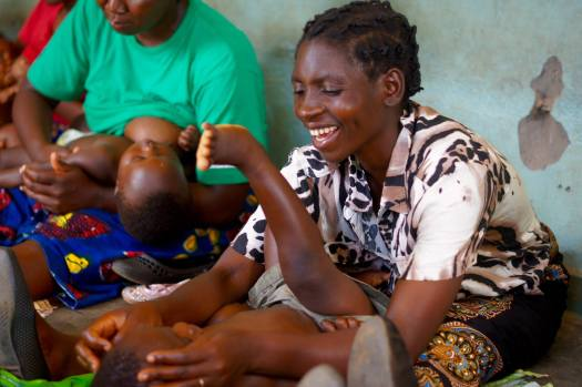 Gayle Berry in Malawi