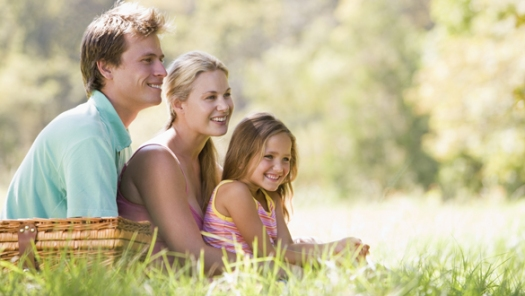 Happy family outside shutterstock_low res