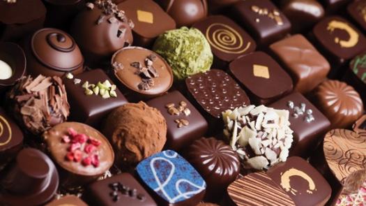 Luxury mixed chocolate truffles
