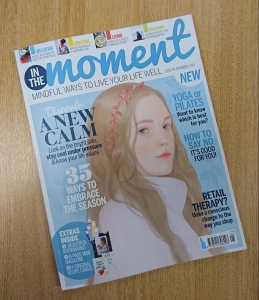 Cover of November issue of In The Moment magazine