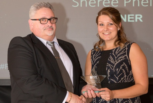 Sheree Phelps - sports therapist of the year