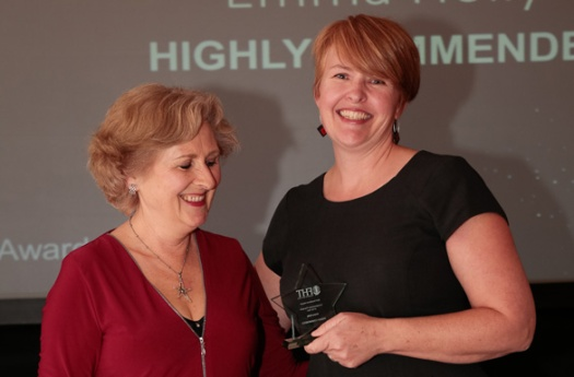 2017 FHT Excellence Awards Emma Holly Mary Dalgleish