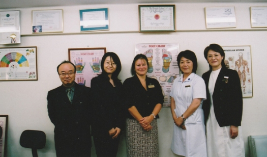 Guest Lecturer and Reflexology Examiner, Japan.jpg