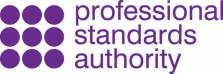 Pictured: Professional Standards Authority logo